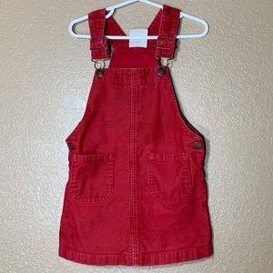 Genuine kids from Oshkosh corduroy overall dress